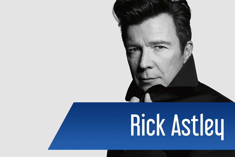 A Never Gonna Give You Up című óriássláger előadója, Rick Astley is fellép.