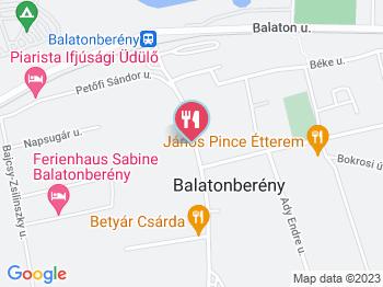 balatonberény térkép Korona Étterem Balatonberény   Jártál már itt? Olvass véleményeket  balatonberény térkép
