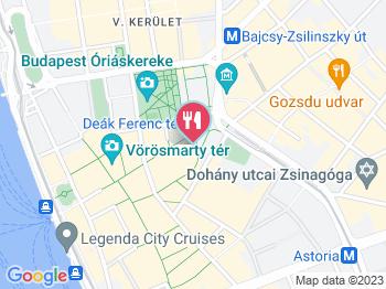budapest térkép deák ferenc tér Bamba Marha Burger   Deák Ferenc tér Budapest   Jártál már itt  budapest térkép deák ferenc tér