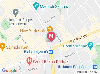 budapest szállás térkép Boscolo Hotel   New York Kávéház Budapest   Jártál már itt? Olvass  budapest szállás térkép