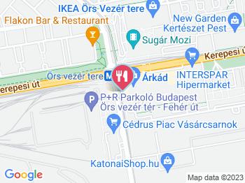 budapest örs vezér tér térkép Hoop   Árkád Budapest   Jártál már itt? Olvass véleményeket, írj  budapest örs vezér tér térkép