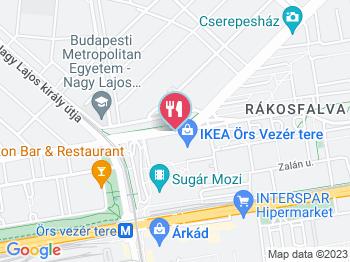 budapest örs vezér tér térkép IKEA Budapest Étterem Budapest   Jártál már itt? Olvass  budapest örs vezér tér térkép