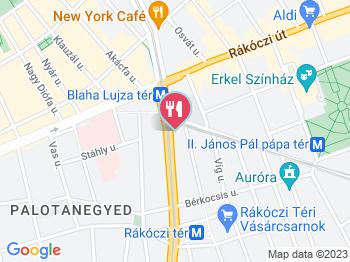 budapest térkép blaha lujza tér McDonald's   Blaha Lujza tér Budapest   Jártál már itt? Olvass  budapest térkép blaha lujza tér