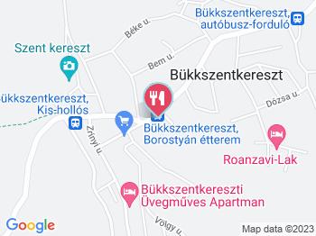 bükkszentkereszt térkép Borostyán Étterem Bükkszentkereszt   Jártál már itt? Olvass  bükkszentkereszt térkép