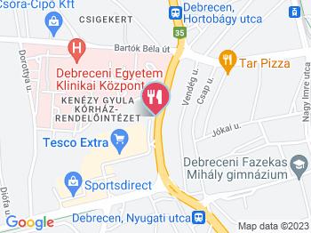 debrecen térkép mobilra Keszegsütő Debrecen   Jártál már itt? Olvass véleményeket, írj  debrecen térkép mobilra