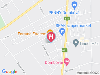 dombóvár térkép Fortuna Étterem Dombóvár   Jártál már itt? Olvass véleményeket  dombóvár térkép