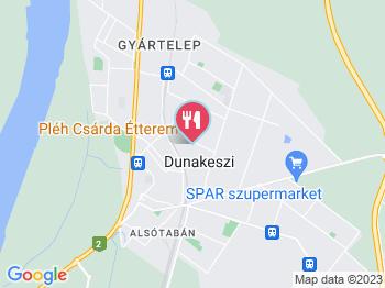 dunakeszi térkép Pléh Csárda Étterem Dunakeszi   Jártál már itt? Olvass  dunakeszi térkép