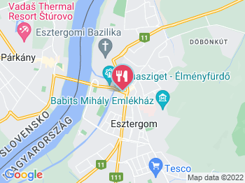 Rizzo Étterem és Pizzéria Esztergom a térképen