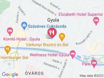 Sörpince Vendéglő & Étterem Gyula a térképen