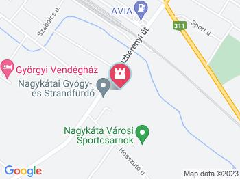 nagykáta térkép Nagykátai Gyógyfürdő és Strand Nagykáta   Jártál már itt? Olvass  nagykáta térkép