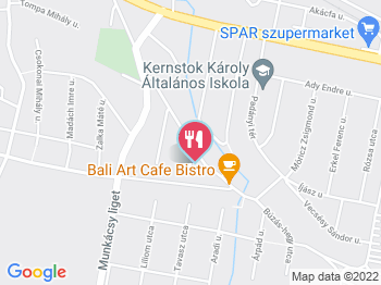 nyergesújfalu térkép Bali Art Cafe Nyergesújfalu   Jártál már itt? Olvass véleményeket  nyergesújfalu térkép