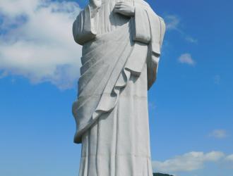 Áldó Krisztus szobor