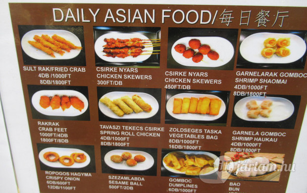 Daily Asian Food Sushi Bar & Restaurant Budapest