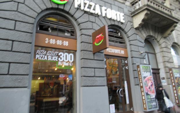 Pizza Forte - Teréz körút Budapest vélemények - Jártál már..