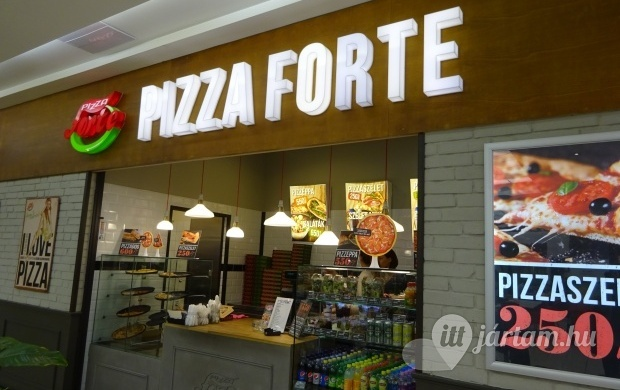 Pizza Forte - Duna Plaza Budapest - Jártál már itt? Olvass..